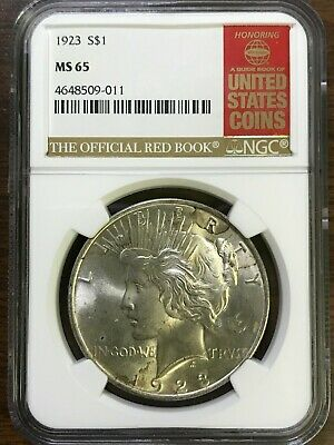 1923 Peace Silver Dollar - NGC MS65 - GEM BRILLIANT UNCIRCULATED - #509-011