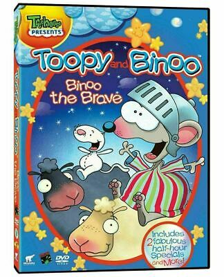 Toopy and Binoo Binoo the Brave (Bilingual)  [DVD] New and Sealed!