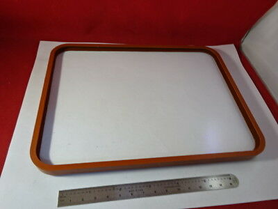 Large Beamsplitter Silicone Gasket Optical Flat Glass Plate Optics As Is  #94-25