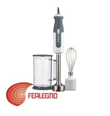 Frullatore Mixer Ad Immersione Tre Lame In Acciaio Inox 800W Hdp302Wh Kenwood