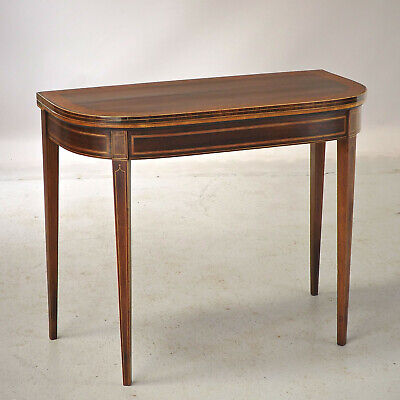 Antique Rosewood Card Table - C1800 - Fine Quality - Oxford St (delivery £40)