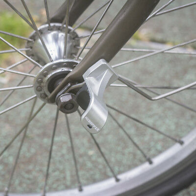 Frame protection alluminium pad sticker for Brompton E-type hook anchors place