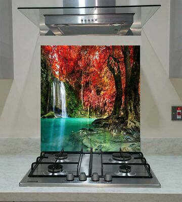 Splashback Toughened Glass  Modern Unique Kitchen Prowling Tiger   Any Sizes