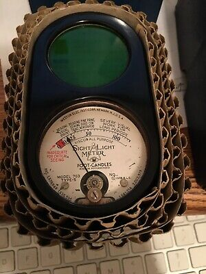 Weston Electrical Instrument Corp Model 703 Foot-Candles Meter For Visual Tasks
