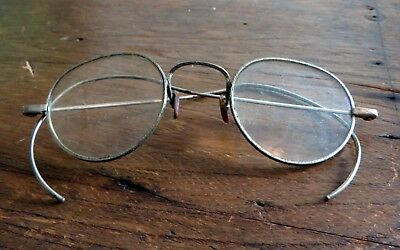 Antique Eye Glasses Vintage Spectacles Ornate Frame