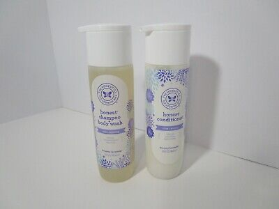 The Honest Co. Ultra Calming Shampoo & Body Wash and Conditioner, 10 oz. SET