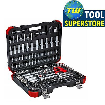 "Gedore Socket Set Red R45603172 172 Piece 1/4"", 3/8"" & 1/2"" Drive"