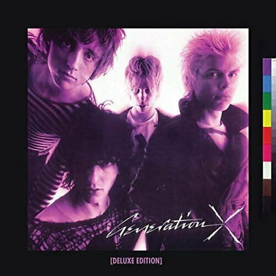 GENERATION X: GENERATION X - NEW 2CD -  Released 26/04/2019