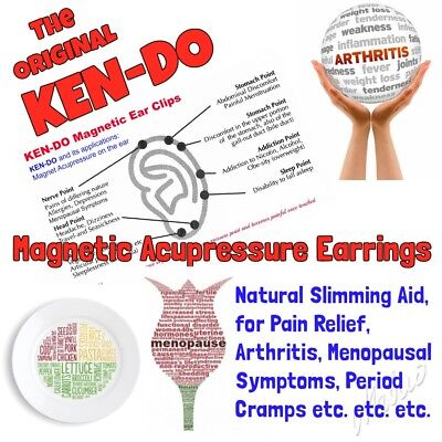 KEN-DO Aurislim Magnet Therapy Earring Arthritis Pain Relief Slimming Menopause