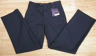 """Baker Best Pinstripe Pure Wool Trousers By Ted Baker 13YRS height 39.5"""" W27.5"""""""