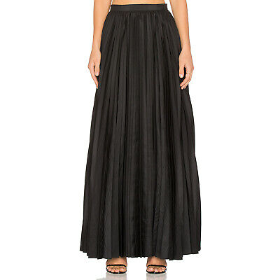 7b63c08030 BLAQUE LABEL NEW Pleated Maxi Skirt Black Extra Small - $80.00 ...