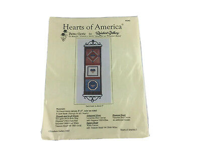 Hearts Of America Needlepoint Pattern By Beau Geste Rainbow Gallery Specialty