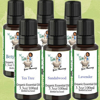 Undeluted Pure natural essential oils 3.3oz/100ml therapeutic grade