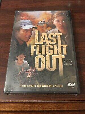 Last Flight Out DVD BRAND NEW SEALED Richard Tyson Bobbie Phillips Region 1 2003