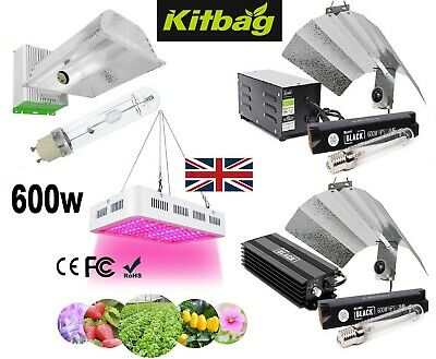 Lumii 600w Grow Light Kit Dual Complete Magnetic Digital Dimmable LED 315w CMH