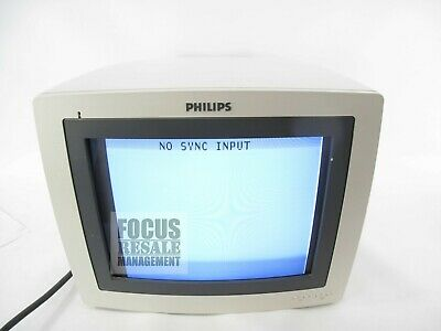 Philips MCMDO2AA 453561166991 REV C CRT Monitor For HD 11 Ultrasound