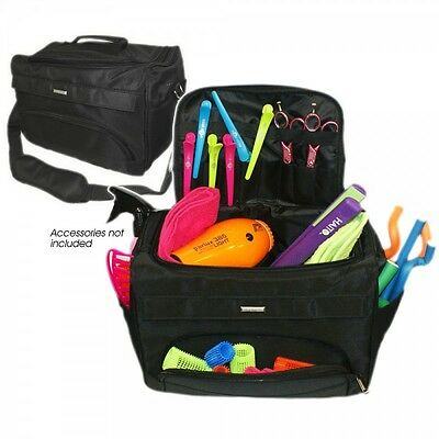 Professional Haito Black Tool Bag With Carry Strap Salons & Hairdressers Use
