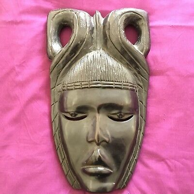 Stunning Post Medieval Very Rare Large African Mask .17th 19th Cent AD