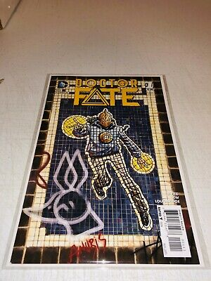 DOCTOR FATE #1 (DC 2015) 1st KHALID NASSOUR AS DOCTOR FATE VF/NM