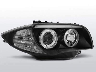 Fari Angel Eyes BMW serie 1 E87 2007-2012