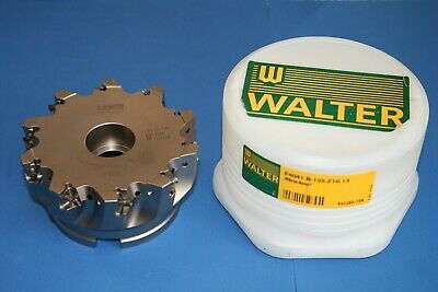 Walter Brass Head 125mm F4041.b.125.z10.13 Shoulder Mill Turn Insert Cutters