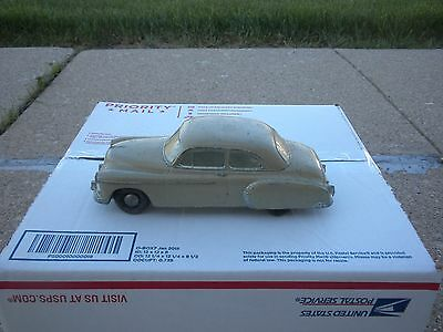 Vintage Original (Rare) Chevrolet Sedan Metal Still Bank By Banthrico Inc. Nice!