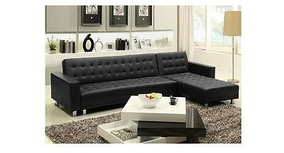 Outstanding Claremont Leather Sofa With Reversible Chaise Sectional Machost Co Dining Chair Design Ideas Machostcouk