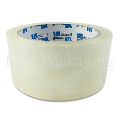 Clear Packing Tape 48mmx66m Polyprop Any Qty