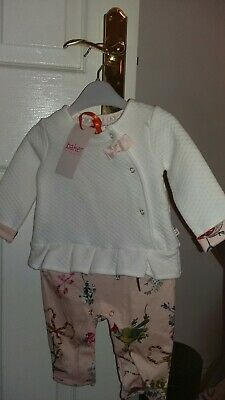 fb26ac3c4264 TED BAKER GIRLS Frill Detail Romper Age 3-6 Months New - £12.50 ...