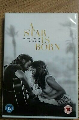 A Star is Born  [2018] (DVD) Bradley Cooper, Lady Gaga, UK R2