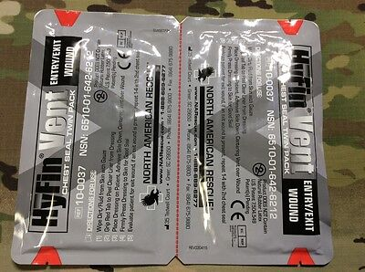 Hyfin Chest Seal Twin Pack (North American Rescue) EXP 2022