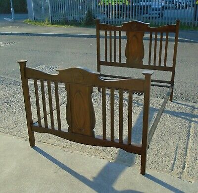 Antique Victorian Double Bed Frame    Delivery Available