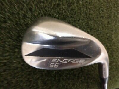 NIKE ENGAGE TOE SWEEP 60 DEG LOB WEDGE KBS CTAPER REGULAR FLEX STEEL Golfschläger