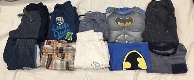 Baby Clothes Used, Boy, 6/9 Months, Set Of 9 Pieces Of Clothing, Mixed Brands.