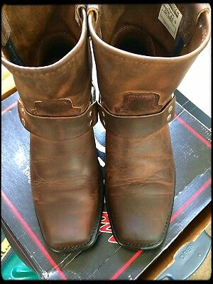 Double H Harness Mens Boots 8.5 Medium Width/Brown