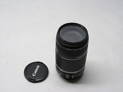 Genuine Canon EF-S 55-250mm f/4-5.6 Zoom Lens