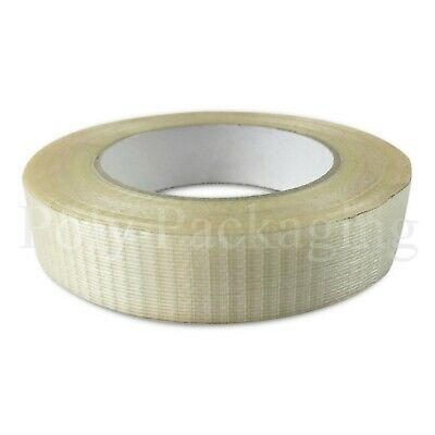Crossweave Tape 25mmx50m Extra Strong Reinforced Any Qty