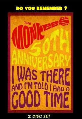 """The Monkees 50th Anniversary """"I Was There..."""" [2-DVD] Videos, Interviews, more"""