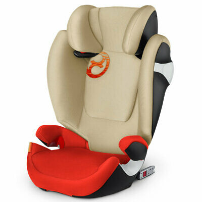 Car Seat Group 2/3 [Kg 15-36] Solution M-Fix Autumn Gold Burnt Red Cybex