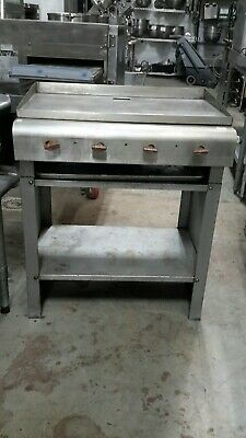 "Used 30"" Natural Gas Griddle with Stand"