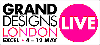 2 Tickets Grand Design Show Excel London Any Weekday 7Th / 10Th May 2019