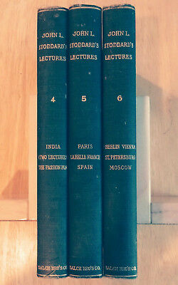 Stoddard's Lectures, Vols 4-6, Paris, Oberammergau Passion Play, India, Moscow +