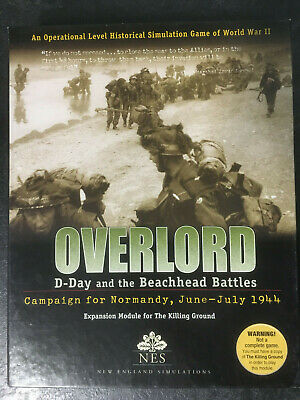 NES Overlord: D-Day and the Beachhead Battles COMPLETE UNPUNCHED!
