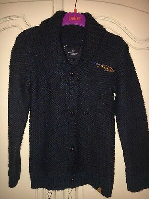 Scotch Shrunk Thick Knitted Boys Jacket   Age 10, 140cm. Bnwot