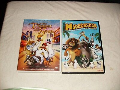 Thr Trumpet of the Swan and Madagascar DVD