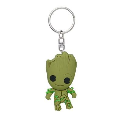 Guardians of the Galaxy Groot 3D Figural Key Chain - San Diego Comic-Con 2017 Ex