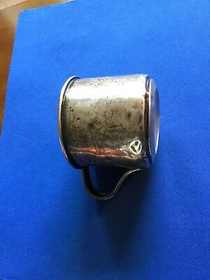 International Sterling Silver Vintage Baby Cup