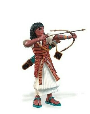 Egyptian Archer Safari Rare Model Figure Toy Ancient Egypt Pharoah