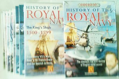 History of the Royal Navy 8 DVD boxset,Drednoughts,HMS Dasher,Victory,Story of