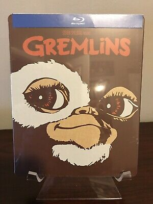 Gremlins Steelbook (Blu-Ray, FYE Exclusive Limited Edition) Factory Sealed!